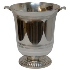 Kirk Stieff Sterling Silver Champagne Wine Cooler, 1960s
