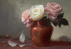 """""""Love and Roses"""" Oil Painting"""