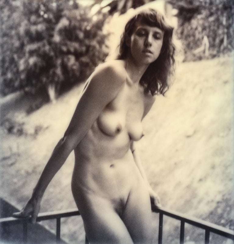 Kirsten Thys van den Audenaerde Black and White Photograph - All my most Beautiful - Contemporary, Nude, Women, Polaroid, 21st Century