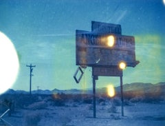 Angels I, 21st Century, Polaroid, Landscape Photography, Contemporary, Color
