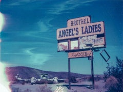 Angels II - 21st Century, Polaroid, Landscape Photography, Contemporary, Color