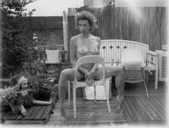 Au naturel - Contemporary, Polaroid, Black and White, Women, Nude