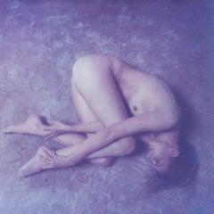 Blueish - Polaroid, Color, Women, 21st Century, Nude