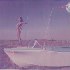 Boat to Nowhere - Contemporary, Polaroid, Nude, 21st Century, Joshua Tree
