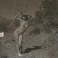 Born to be Wild, 21st Century, Polaroid, Nude Photography, Contemporary, B&W