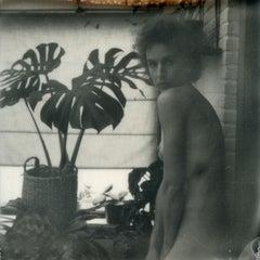 Candid - Polaroid, Black and White, Women, 21st Century, Nude
