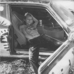 Cars and girls - Contemporary, Nude, Women, Polaroid, 21st Century
