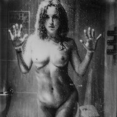Confession - Polaroid, Black and White, Women, 21st Century, Nude