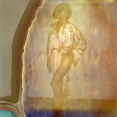 Cosmic Love - Contemporary, Nude, Women, Polaroid, 21st Century