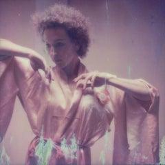 Crystal Ball - Contemporary, Nude, Women, Polaroid, 21st Century