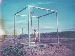 Cubism - Contemporary, Polaroid, Nude, Color