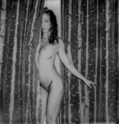 Curtain Call - Contemporary, Portrait, Women, Polaroid, Nude, 21st Century