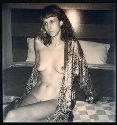 Day and Night (50x50cm) - Contemporary, Nude, Women, Polaroid, 21st Century
