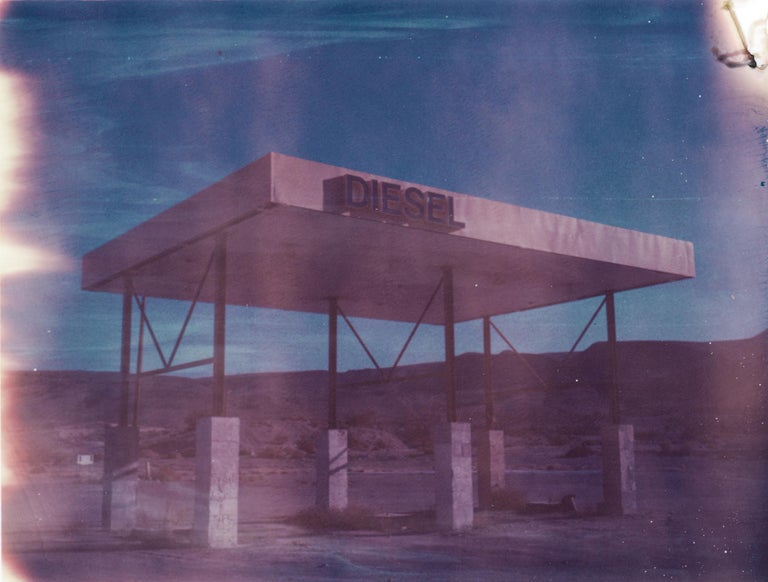 Diesel, 2018, Edition 1/7 plus 2 Artist Proofs, based on an original Polaroid, Digital C-print, not mounted. Signed on the back and with certificate. Artist inventory PL2016-414.  Kirsten Thys van den Audenaerde is a self-taught freelance