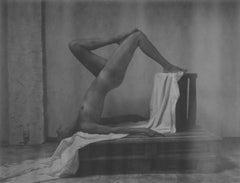 Equilibrium - Contemporary, Polaroid, Black and White, Women, Nude