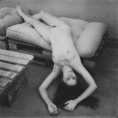 Fallen - Contemporary, Women, Polaroid, 21st Century, Nude, 21st Century
