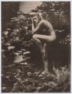 Faun - Contemporary, Figurative, Women, Polaroid, Photograph, Nude