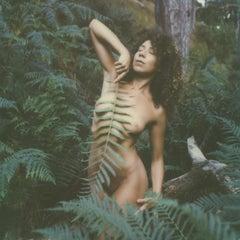 Fern I (20x20cm) - Polaroid, Contemporary, Color, 21st Century, Nude