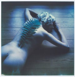 Fernweh (50x50cm) - 21st Century, Nude, Polaroid, Contemporary