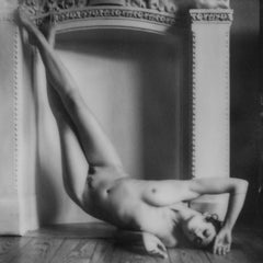 Figure study in Black and White I - Contemporary, Figurative, Polaroid, Nude