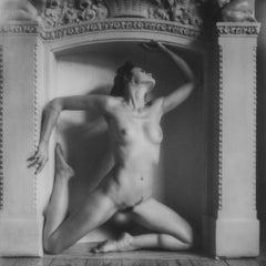 Figure study in Black and White II - Contemporary, Figurative, Polaroid, Nude