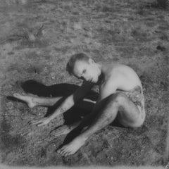 Frown - Contemporary, Polaroid, Nude, 21st Century, Joshua Tree