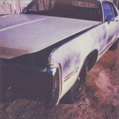 Full frontal -  21st Century, Polaroid, Vintage Cars, Photography, Contemporary