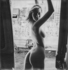 Girl - Contemporary, Nude, Women, Polaroid, 21st Century, Color