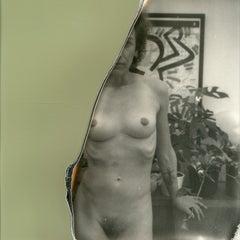 Halfway there - Contemporary, Nude, Women, Polaroid, 21st Century