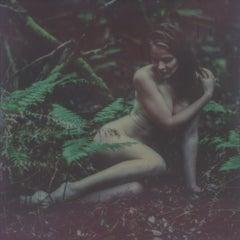 Heart of Glass - Contemporary, Nude, Women, Polaroid, 21st Century