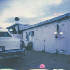 Home is where the heart is -  21st Century, Polaroid, Vintage Cars, Photography