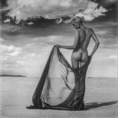 Homecoming - Polaroid, Women, 21st Century, Nude, Desert