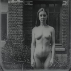 I'm only happy when it rains - Contemporary, Nude, Women, Polaroid, 21st Century