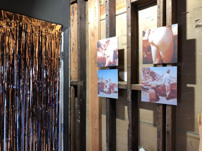 Last man standing - Contemporary, Nude, men, Polaroid, 21st Century For Sale 1