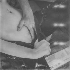 Lava - Contemporary, Nude, Women, Polaroid, 21st Century, Color