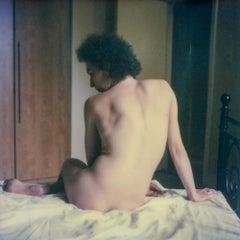 Letting Love go (50x50cm) - 21st Century, Polaroid, Nude, Contemporary