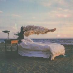 Levitate (Bombay all Day) - Contemporary, Polaroid, Women, 21st Century