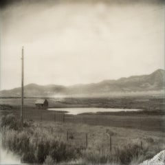 Little House on the Prairie, 21st Century, Polaroid, Landscape Photography