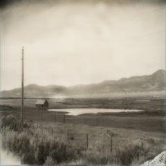 Little House on the Prairie, 21st Century, Polaroid, Landscape Photography