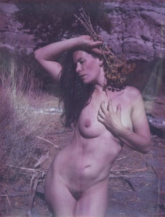 Maya (60x48cm) - 21st Century, Polaroid, Nude Photography, Contemporary, Color