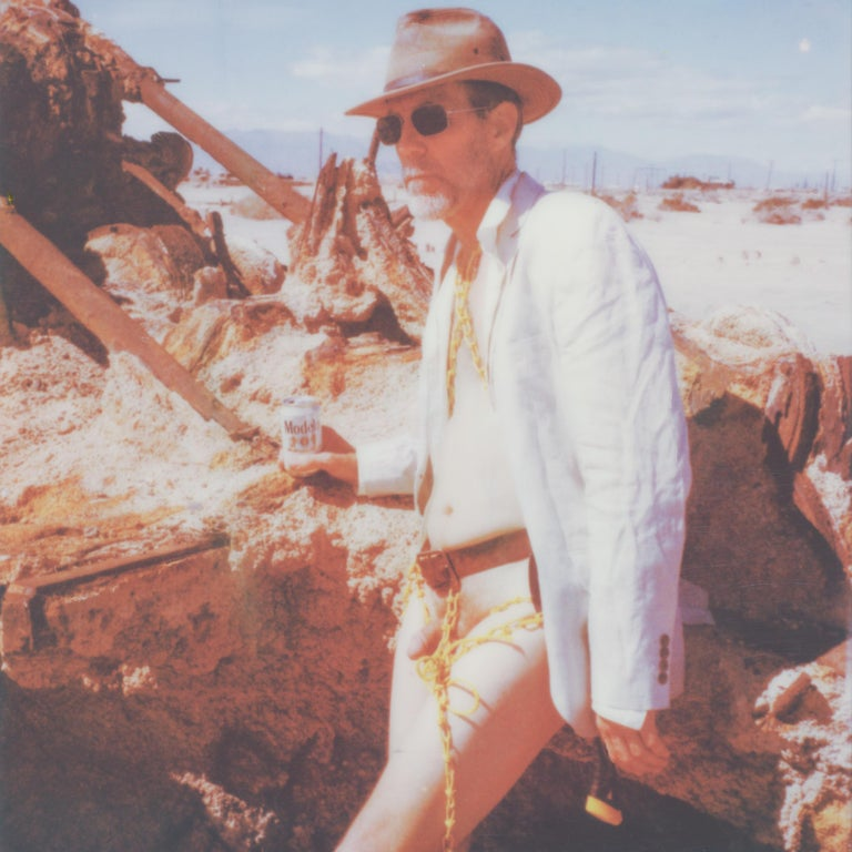Kirsten Thys van den Audenaerde Nude Photograph - Memoirs of a Beach Boy - Contemporary, Nude, men, Polaroid, 21st Century