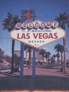 Money Talks - Las Vegas - 21st Century, Polaroid, Landscape, Contemporary