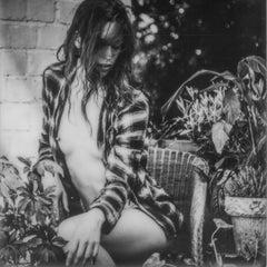 No one to run with - Polaroid, Black and White, Women, 21st Century, Nude