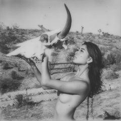 Offerings - Contemporary, Portrait, Women, Polaroid, 21st Century, Nude