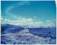 On the Road to Nowhere - Contemporary, Landscape, Polaroid, Photography
