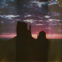 Orange Crush, 21st Century, Polaroid, Landscape Photography, Contemporary, Color