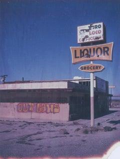 Outlaws, 21st Century, Polaroid, Landscape Photography, Contemporary, Color