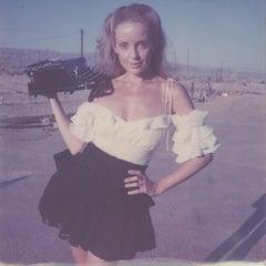 Paperback writer - Contemporary, Portrait, Women, Polaroid, 21st Century, Color