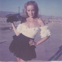 Paperback writer - Contemporary, Portrait, Women, Polaroid, 21st Century, Color
