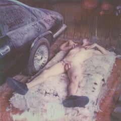 Pins and Needles - Contemporary, Nude, men, Polaroid, 21st Century
